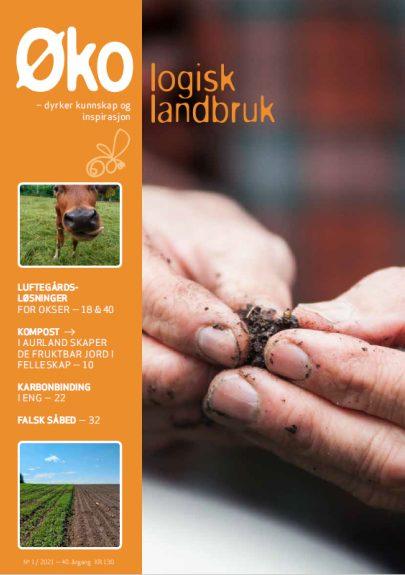 Forside Okologisk landbruk Nr1 2021 Skjermdump